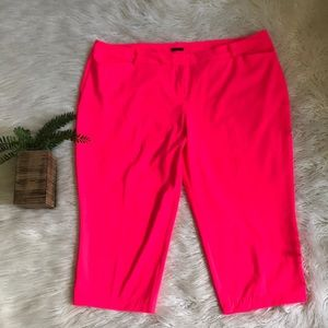 Hot Pink Capri Pants